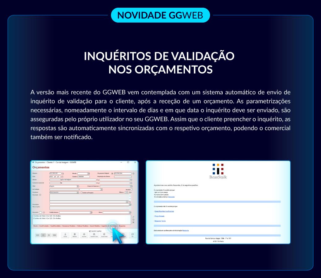 Novidade GGWEB: Inquéritos de satisfação
