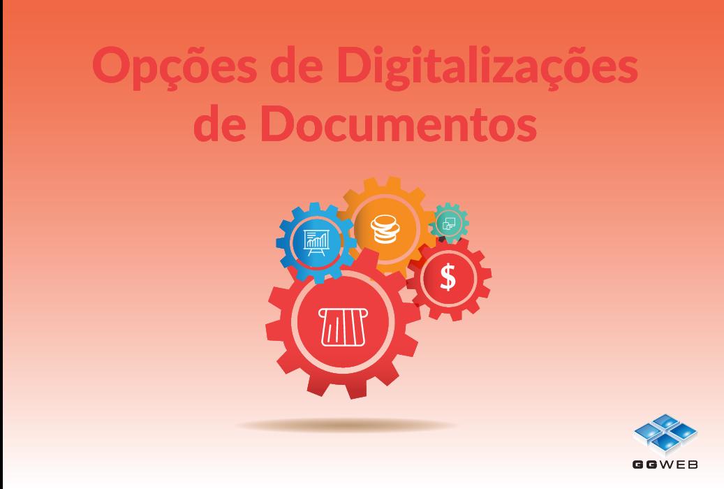 Opções de Digitalizações de Documentos