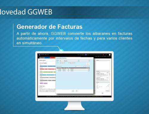 Novedad GGWEB: Generador de Facturas