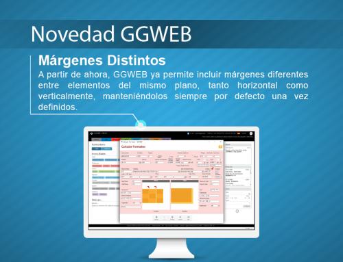 Novedad GGWEB: Margenes Distintos