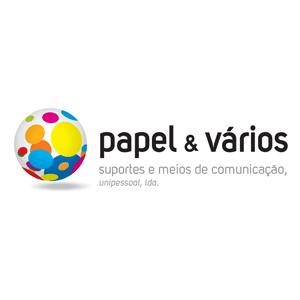 Logo Papel & Vários