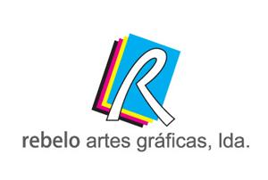 Logo Rebelo Artes Gráficas