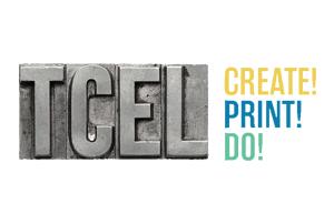 Logo TCEL - Tipografia Central do Entroncamento