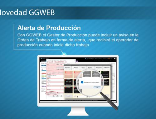 Novedad GGWEB: Alerta de Producción