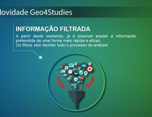 Novidade Geo4Studies: Informação Filtrada