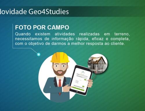Novidade Geo4Studies: Fotos por campo