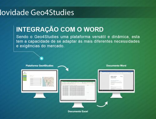 A Plataforma Geo4Studies integrada com o Word