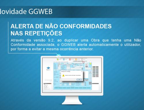 Novidade GGWEB: Alerta de Não Conformidade