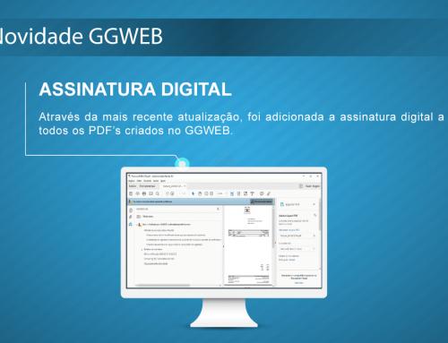 Novidade GGWEB: Assinatura Digital