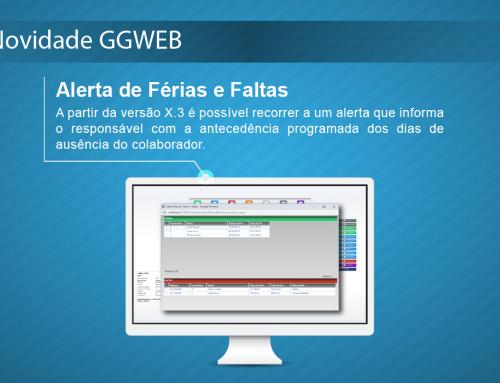 Novidade GGWEB X.3: Alerta de Férias e Faltas