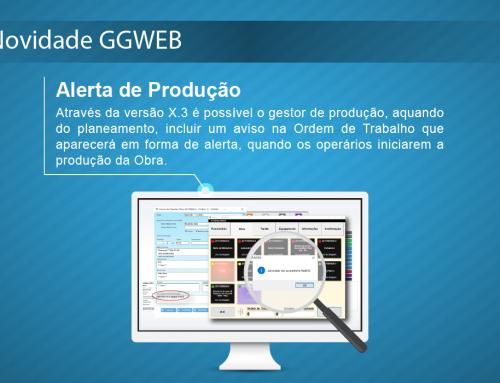 Novidade GGWEB X.3: Alerta de Produção