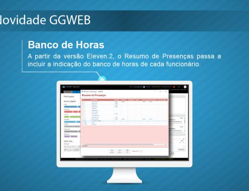 Novidade GGWEB: Banco de Horas