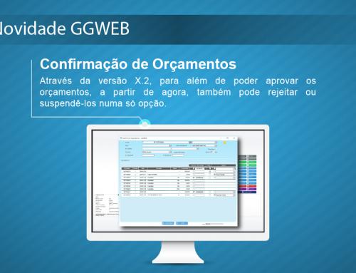Novidade GGWEB X.2 – Confirmação de Orçamentos