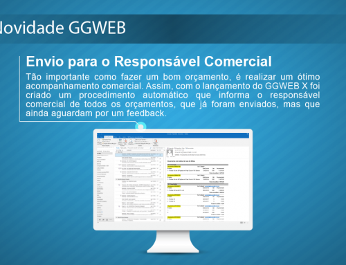 Novidade GGWEB: Envio para o Responsável Comercial