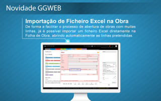 Novidade GGWEB - Ficheiro Excel