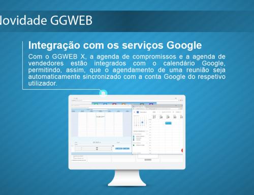 Novidade GGWEB: Integração com os Serviços Google