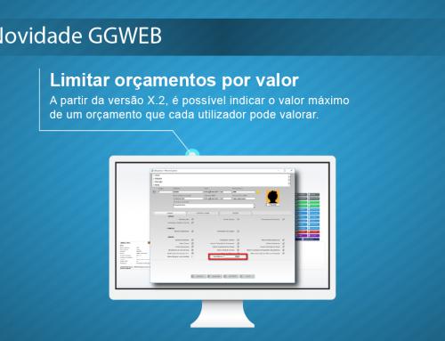 Novidade GGWEB X.2: Limitar orçamentos por valor