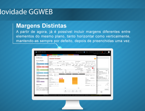 Novidade GGWEB: Margens Distintas