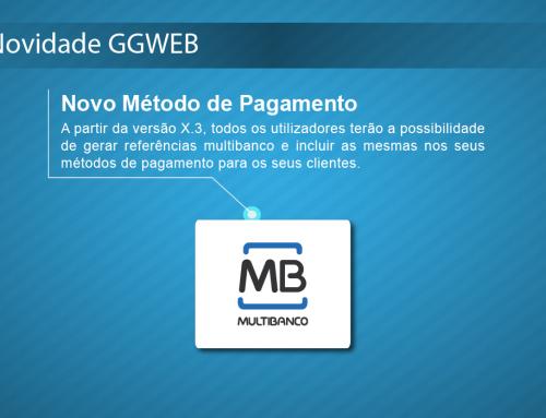 Novidade GGWEB X: Novo Método de Pagamento