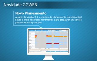 Novidade GGWEB X.4 - Novo Planeamento