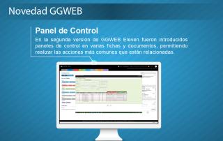 Novedad GGWEB - Panel de Control