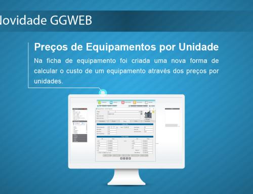 Novidade GGWEB: Preços de Equipamentos por Unidade