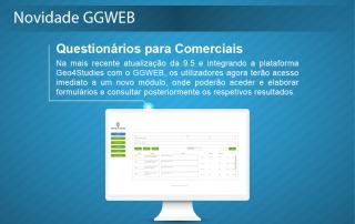 Novidade GGWEB - Questionários para comerciais