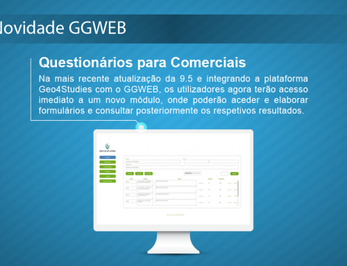 Novidade GGWEB: Questionários para Comerciais