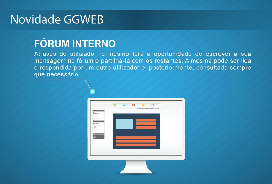 novidade GGWEB (forum interno) DESTAQUE