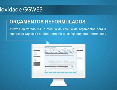 Novidade GGWEB: Cálculo de Orçamentos reformulado