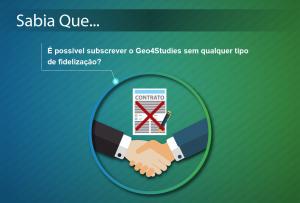Sabia Que Geo4Studies: Subscrição sem fidelização