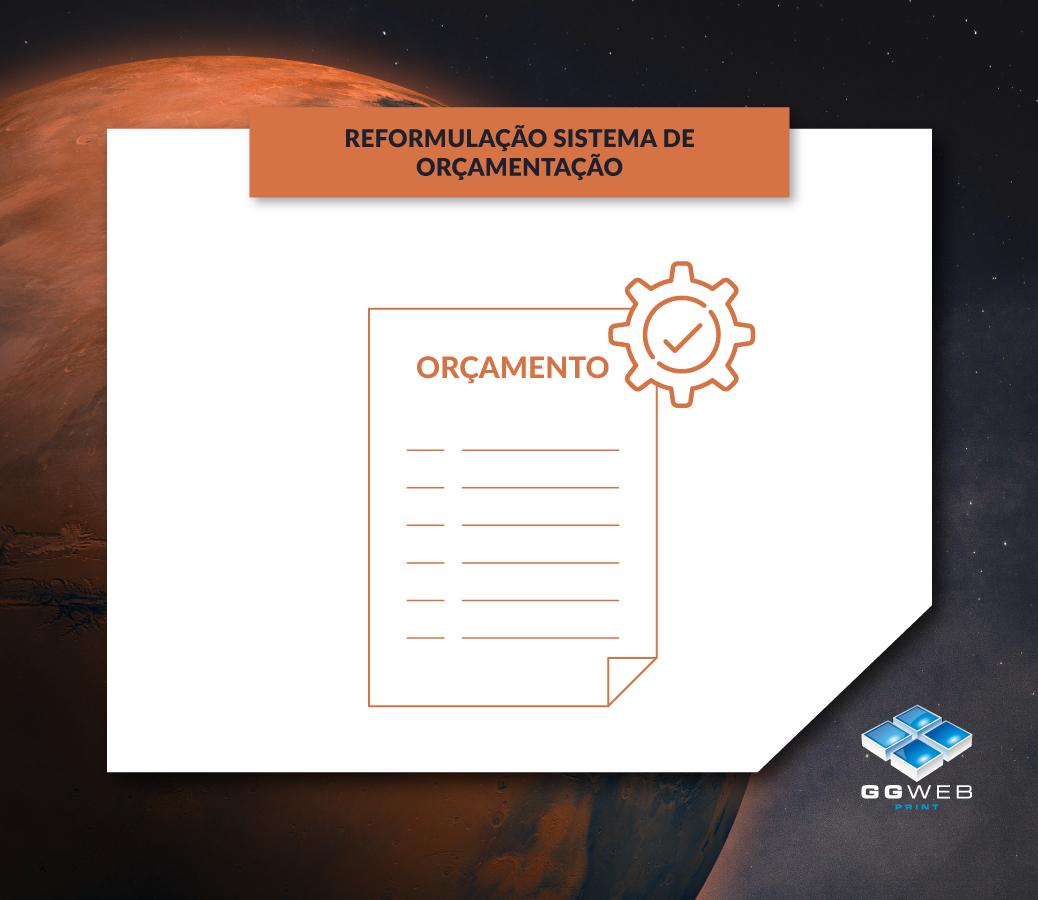 GGWEB Marte: Reformulação do sistema de Orçamentação
