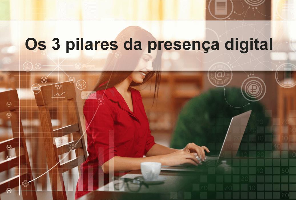 Os 3 pilares da presença digital
