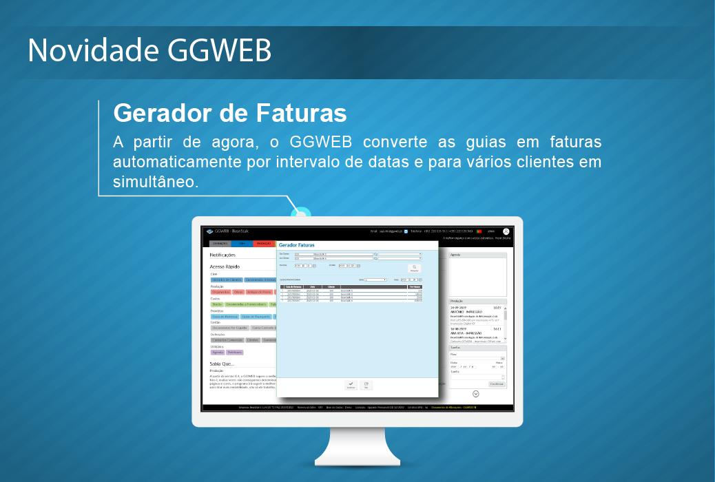 Novidade GGWEB: Gerador de Faturas