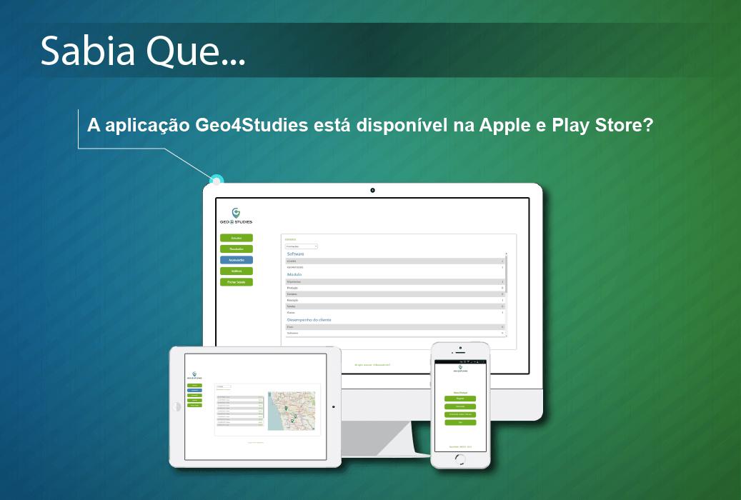Geo4Studies disponível nas Lojas